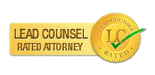 This Attorney is Lead Counsel Rated. Click here for more Information.